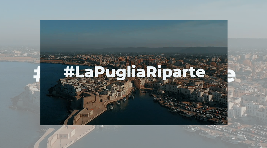 #LaPugliaRiparte - Il video da 100k views in 7gg